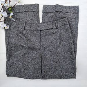 Ann Taylor Gray Wool Trousers